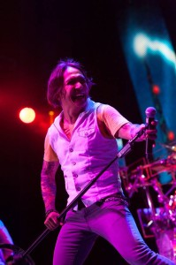Journey's energetic frontman Arnel Pineda - Photo Courtesy Ron Short