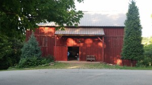 The barn at Little Lake Theatre.
