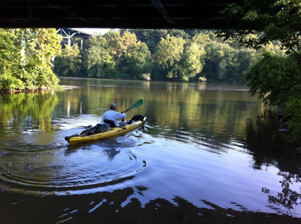 Will Moore passes through area on his kayaking adventure. Read more...