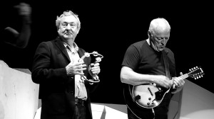 Nick Mason and David Gilmour, the last surviving members of Pink Floyd, on the road