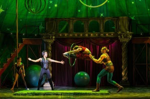 "Sasha Allen as the Leading Player in ""Pippin"" Photo Credit Terry Shapiro"
