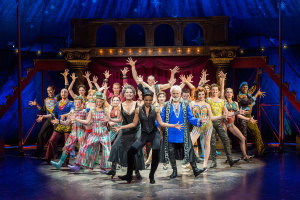 "The Cast of the National Touring Company of ""Pippin"" Photo Credit Tony Shapiro"
