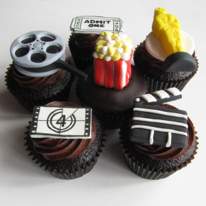Cupcakes! Perfect for sharing with friends & movies