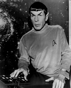 Leonard Nimoy at Spock