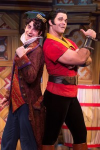 Gaston & Lefou, as portrayed by Cameron Bond & Jake Bridges