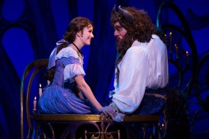 Beauty & the Beast, as portrayed by Jillian Butterfield & Ryan Everett Wood