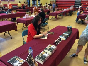 Every year, a multiple author book signing is held where Seton Hill University Writing Popular Fictoin alums and other participating authors are on hand to sign books and discuss their craft