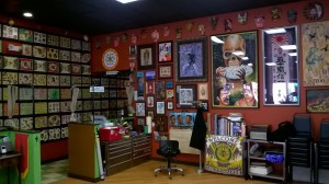 Interior of Old Soul Tattoo