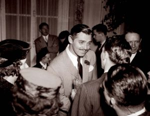 Dashing Rhett Butler at the film's premiere
