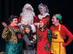 The Happy Elf runs December 8, 9 and 10 at 7pm, and December 10 and 11 at 2pm.